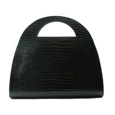 Yves Saint Laurent Embossed Handbag