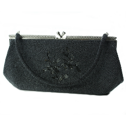 Gun Metal Blue Bag