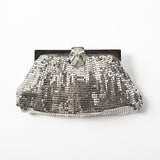 Vintage Whiting & Davis Silver Mesh Clutch