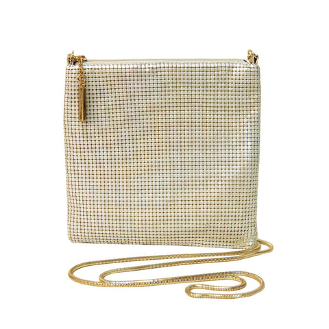 Square Bag with Chain