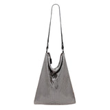 Soft Flat Board Hobo Pewter