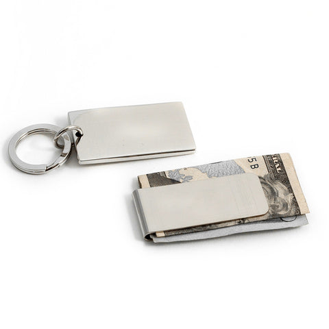Money Clip & Keychain Set