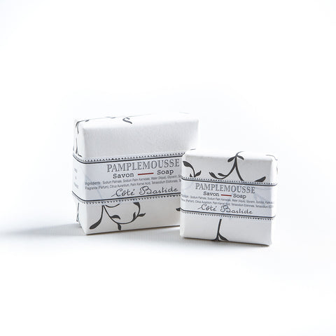 Cote Bastide Wrapped Soap Grapefruit