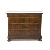 Louis Philippe Chest with Marble Top