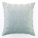 Nautical Knot Pillow Blue