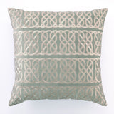 Nautical Knot Pillow Gray