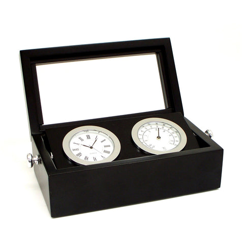 Clock and Thermometer Set