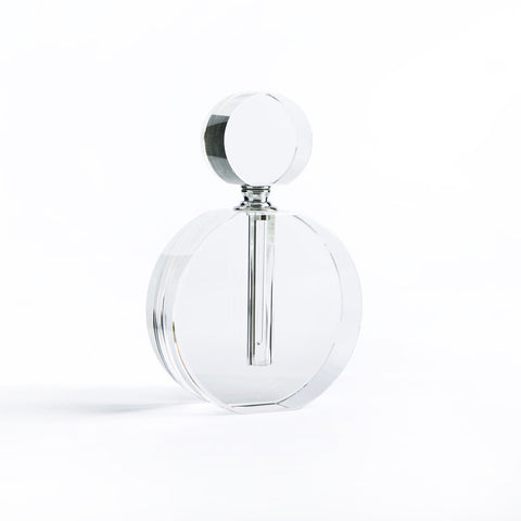 "Modern Morocco Glass Perfume Bottle- Double ""O"""