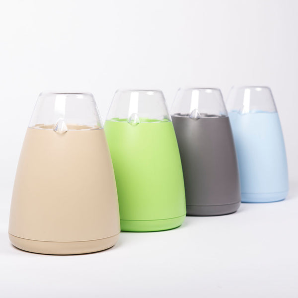 ECO Potagator pot in Beige, Green, Grey and Blue