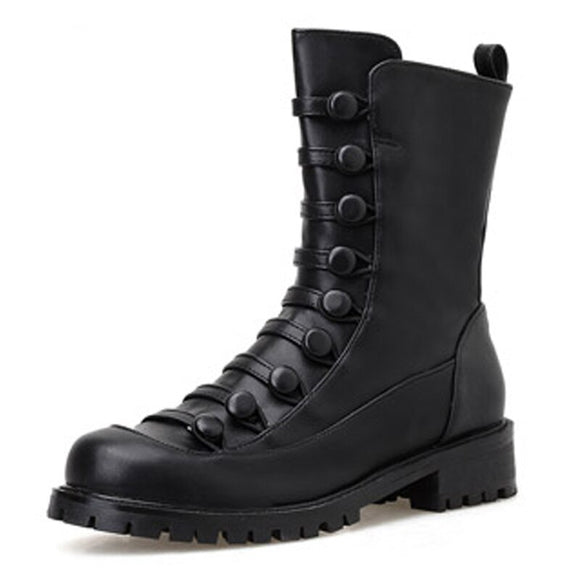 Motorcycle Riding Boot - Black