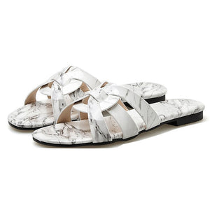 Layssa Slippers - White
