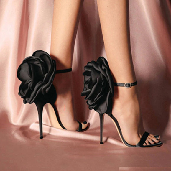 Butterfly Heel - Black