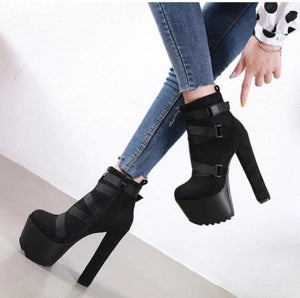 Club Ankle Boots - Black