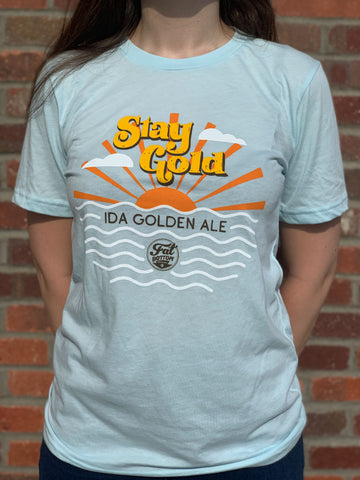 Stay Gold Ida Golden Ale Tee