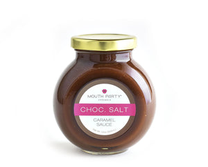 Chocolate Sea Salt Caramel Sauce