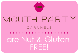 mouth party caramels are nut and gluten free
