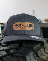 ATLIS x Range Leather Co. Snapback Hat