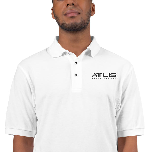 Men's Premium Polo - White