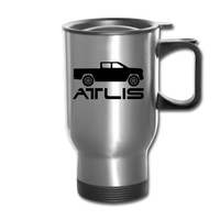 ATLIS Travel Mug - silver
