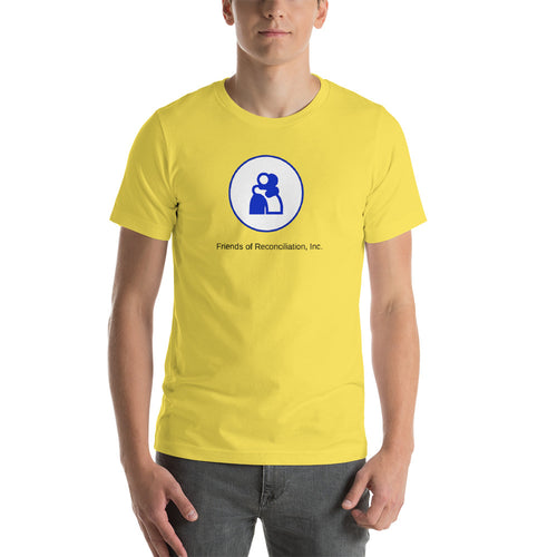 FOR Yellow Short-Sleeve Unisex T-Shirt