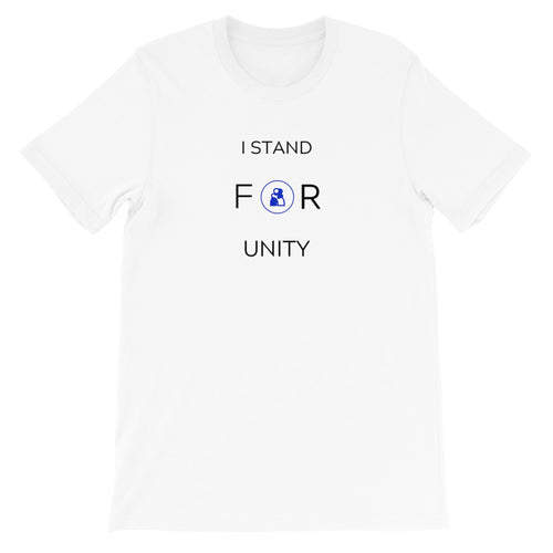 I Stand FOR Unity Short-Sleeve Unisex T-Shirt