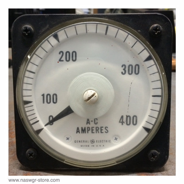 50-103131-LSSC2AAC ~ GE 50-103131-LSSC2AAC AC Ammeter ~ CT Ratio 80:1