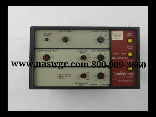 General Electric TP9VT25SGA3 VersaTrip Solid State Device