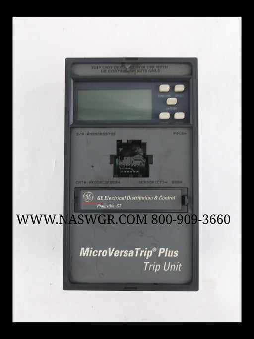 General Electric MicroVersaTrip Plus Trip Unit