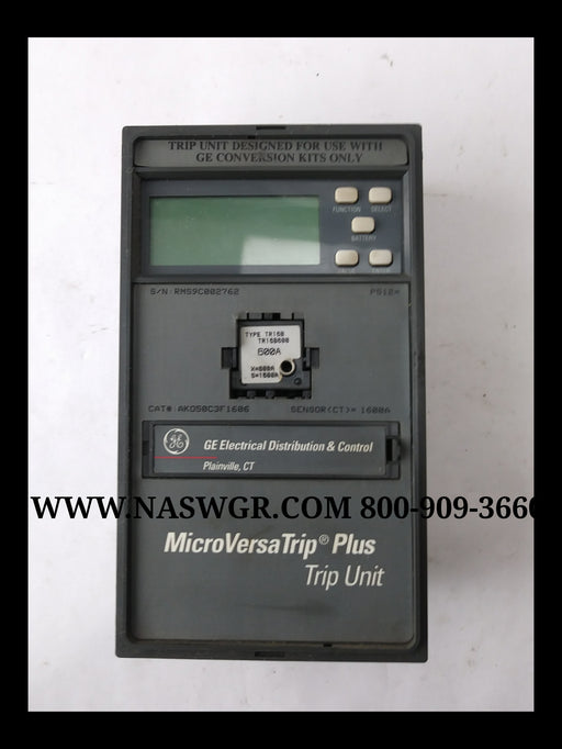 General Electric AKO50C3F1606 MicroVersaTrip Plus Trip Unit