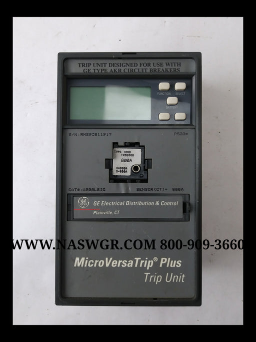 General Electric A208LSIG MicroVersaTrip Plus Trip Unit