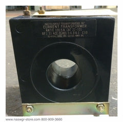 22-101 ~ Instrumental Transformers 22-101 CT ~ 100:5 Amps