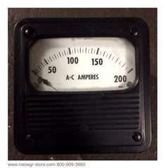 291B499A21 ~ Westinghouse 291B499A21 A-C Amperes Meter