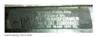 3486C98H21 , Current Transformer , Ratio: 150:5 , PN: 3486C98H21