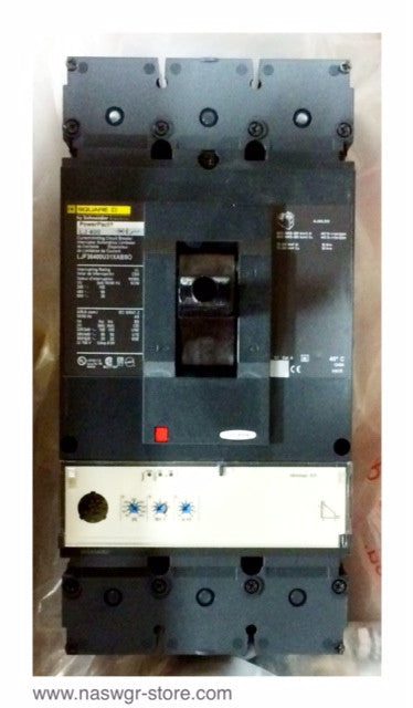 Square D / Schneider Electric LJF36400U31XABSO Circuit Breaker 400 amp PowerPact  ~ LJ36400