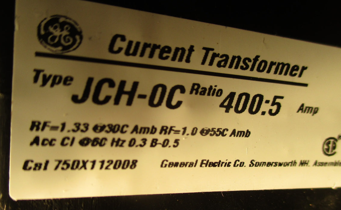 75DX112008 - General Electric - JCH-0C Current Transformer