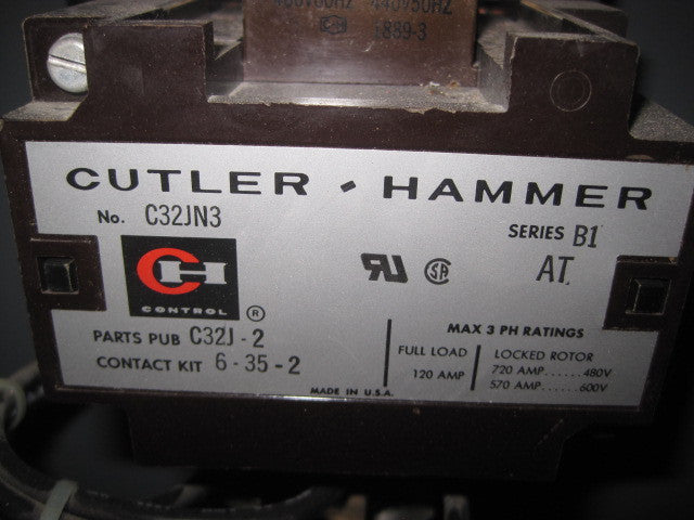 Cutler Hammer Size 3 Delta Close Transition Center