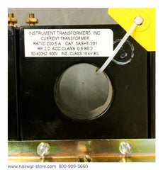 5ASHT-201 ~ Instrument Transformers 5ASHT-201 Current Transformer ~ Ratio: 200:5