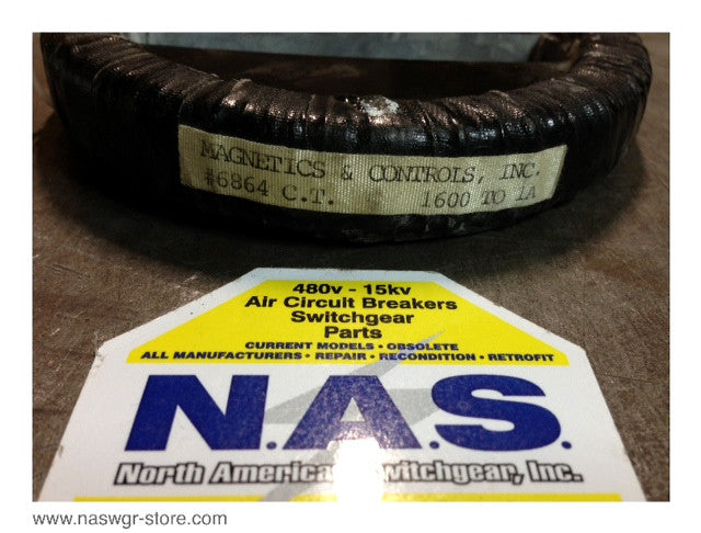 6864 ~ Magnetics & Controls Inc. 6864 Current Transformer