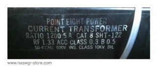 8SHT-122 , Point Eight Power Current Transformer , PN:8 SHT-122 ,