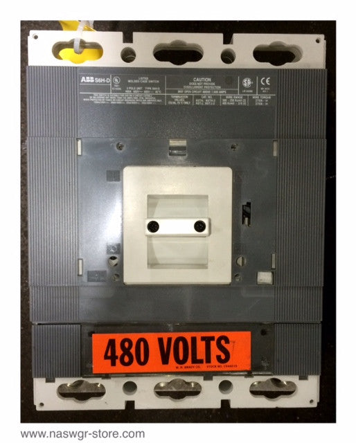 ABB S6H-D Molded Case Switch 400 Amp