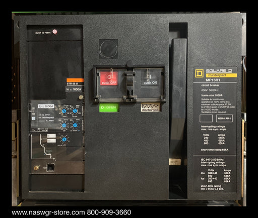 Square D MP16H1 Circuit Breaker Masterpact
