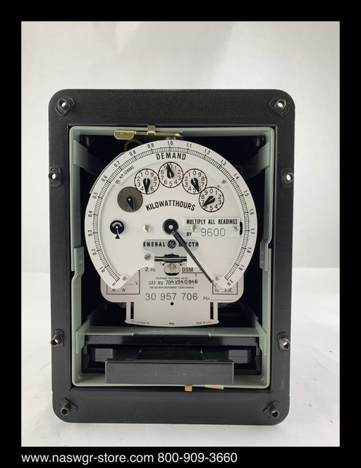 704X64G846 ~ GE 704X64G846 Polyphase Watthours Meter