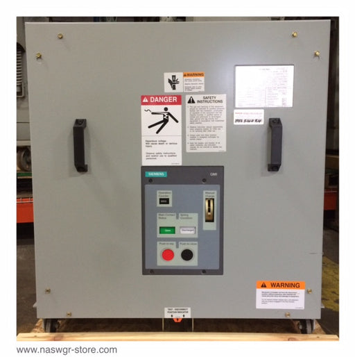 07-GMI-500-1200-66 ~ Siemens 07-GMI-500-1200-66 AC High Voltage Circuit Breaker ~ 1200 Amp