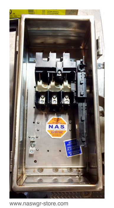 HU361DS ~ Square D HU361DS Safety Switch ~ 30 Amp