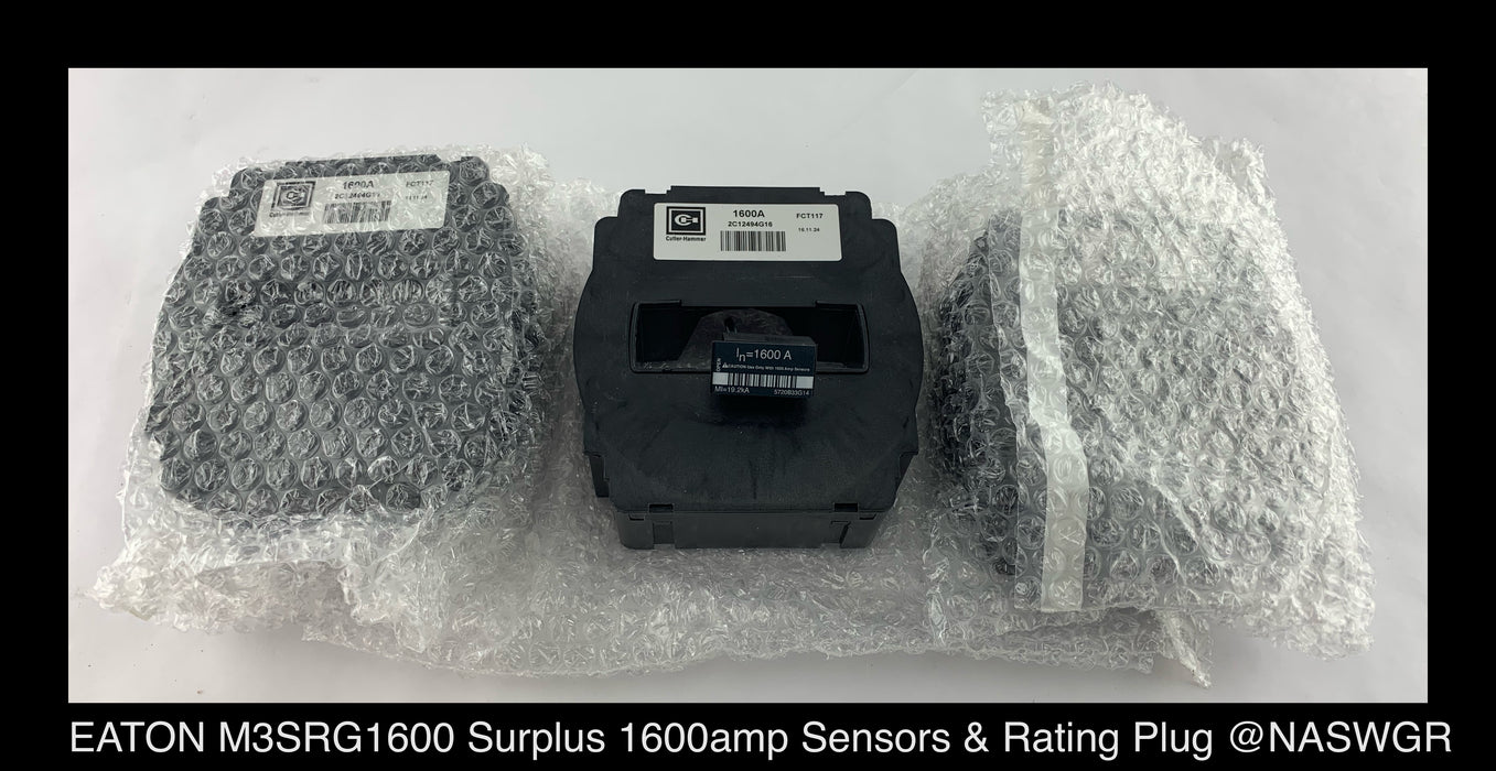 EATON M3SRG1600 Magnum Sensor and Rating Plug Kit Factory Surplus