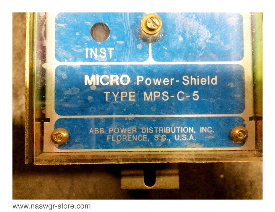 MPS-C-5 , ABB MPS-C-5 Micro Power Shield , LSI Functions , MPS-C-5