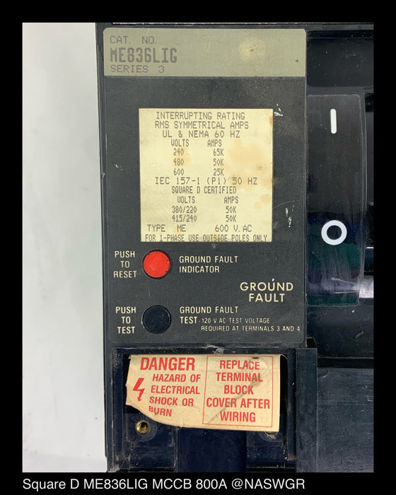 Eaton FDPW368M Dead-Front Switch
