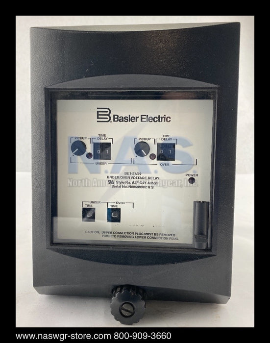 Basler Electric BE1-27/59 Under/Over Voltage Relay