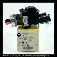 800T-16HR17KB6AA ~ Allen Bradley 800T-16HR17KB6AA Illuminating Selector Switch 3 Position