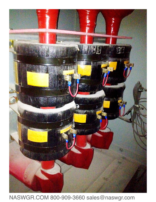 RCT-6 , 300P584G01 , Westinghouse RCT-6 400:5 Current Transformers ~ RCT-6 400:5 CT